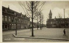 Haarlem - Pretoriaplein, church is gone.