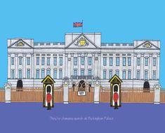 Buckingham Palace Floor Plan, Buckingham Palace Gardens, Palais De Buckingham, Buckingham Palace London, Palace Tour, London Illustration, Palace Interior, London Attractions, Beautiful London
