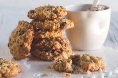 Ovesné sušenky Muesli, Biscotti, Kids Meals, Dog Food Recipes, Cereal, Herbs, Cooking, Breakfast, Fitness