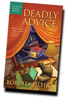 Deadly Advice, the first in the advice column mystery series
