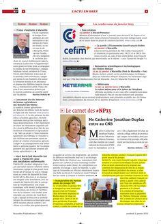 Inauguration du bureau aixois du Groupe SFC dans Les Nouvelles Publications le 2 janvier 2015