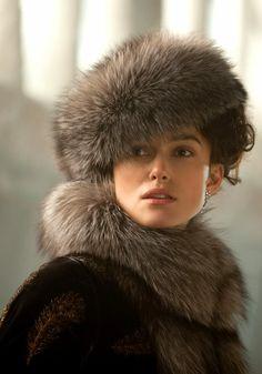 Keira Knightley in Anna Karenina - gorgeous furs!
