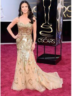 Catherine Zeta-Jones in Zuhair Murad gown
