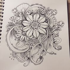 59 Ideas For Drawing Of Love Doodles Zentangle Patterns Zentangle Drawings, Doodles Zentangles, Zentangle Patterns, Doodle Drawings, Doodle Art, Zen Doodle, Tattoo Drawings, Kunst Tattoos, Bild Tattoos