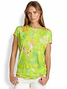 Ralph Lauren Blue Label - Floral-Print Top