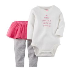 aee4f3d90cf97 Carter s® Bodysuit and Tutu Leggings - Baby Girls newborn-24m found at   JCPenney