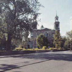 Dzień dobry. #placgrzybowski #warsaw #sunny #summer by jakub_proszynski