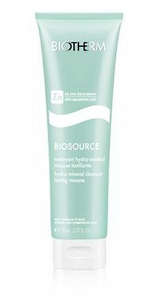Biosource Hydra-Mineral Cleanser Toning Mousse (N/C Skin) - 150ml/5.07oz by Biotherm. $19.50. A soft pale green cream cleanser for normal & combination skin Turns into a light silky mousse when in contact with water Gently cleanses skin: removes dirt & daily residue Helps tone & clarify skin Leaves skin clean fresh & balancedProduct Line: Biotherm - Biosource - CleanserProduct Size: 150ml/5.07oz