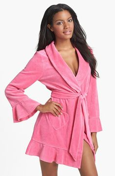 439b25d2fe Juicy Couture Velour Robe available at  Nordstrom Juicy Couture
