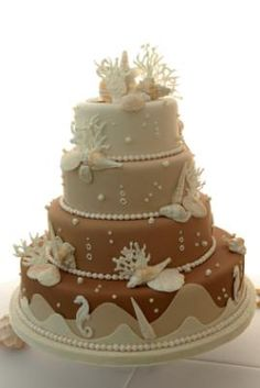 Blog - Wedding Beach Theme Series - The Cake Gallery | Val Vista Lakes Events | Arizona Weddings, Banquet Hall, Receptions