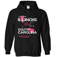 (ILJUSTHONG001) JUST AN ILLINOIS GIRL IN A SOUTH WORLD T-SHIRTS, HOODIES, SWEATSHIRT (39$ ==► Shopping Now)