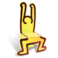 Keith Haring Kids Chair!