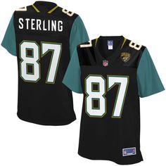 Neal Sterling Jacksonville Jaguars NFL Pro Line Women's Player Jersey - Black