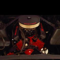 My 302 motor in my 66 mustang!
