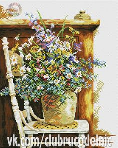 Flowers on a Chair 2