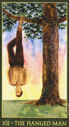 the hanged man tarot relationship outcome