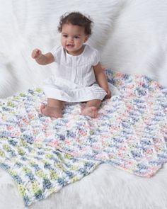 Bernat: Softee Chunky - Baby Blanket (crochet) freebie: thanks so xox