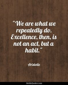 excellence #quotes