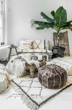 Bohemian Heaven Fresh Boho Chic Home Decor Inspiration White