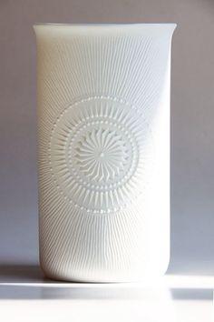 Kaiser Vase - 60s op art vase