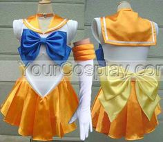 Sailor Moon Costumes Cosplay Costumes Mina dress Sailor Venus Co, Sailor Moon Cosplay Costumes, Cosplay Costumes