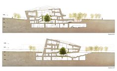 National Museum of Afghanistan Competition Entry / Matteo Cainer Architects