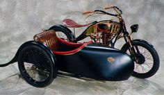Here is a beautiful vintage sidecar built by Art Deco Motorcycling from Hungary