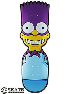 Santa Cruz Simpsons The Bartman Deck 8.7 x 25.4
