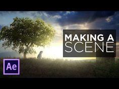 Cartoon Animation Tutorial - Part 4: Make a Scene - YouTube