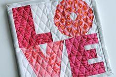 love paper pieced pattern -free pattern