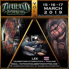 Celebrity Ink™ Tattoo Studio is one of the Thailand best tattoo studios that host professional tattoo artists who are sourced from all over the globe. They are honest in their work and they maintain utmost level of hygiene. Professional Tattoo, Pattaya, Tattoo Shop, Tattoo Studio, Tattoo Artists, Cool Tattoos, Globe, Thailand, Studios