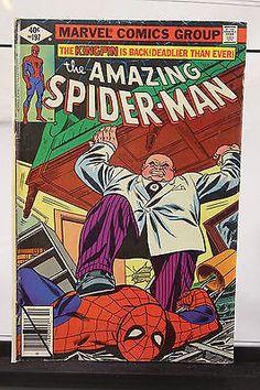 1979 The Amazing Spider Man #197 Marvel Comic Book Kingpin