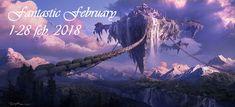 Sleepywolfread: Fantastic February 1-28 feb. 2018