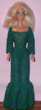 Evening Gown http://web.archive.org/web/20051225070154/http:/barbiebasics.tripod.com/crochet45.html