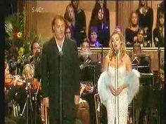 Katherine Jenkins - Ave Verum Corpus ~    Hail,true body  born of the Virgin Mary,  Who truly suffered, sacrificed  on the Cross for man,  Whose pierced side overflowed  with water* and blood,  Be for us a foretaste**  In the test of death.