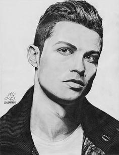 Cristiano Ronaldo Illustration #cristiano #ronaldo #cristianoronaldo…