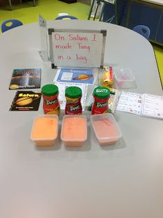 Completely Kindergarten: Sublime Space Unit Making Tang in a bag Science Activities For Kids, Kindergarten Science, Science Ideas, Space Party, Space Theme, Space Bulletin Boards, Space Projects, Student Teaching, Teaching Ideas