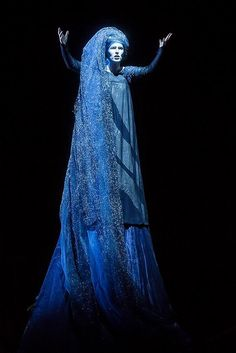 Christina Poulitsi as the Queen of the night in the magic Flute (Mozart) | #opera #costume