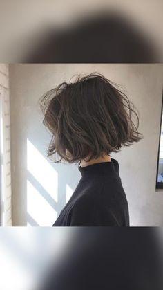Bob Hairstyles For Fine Hair, Hairstyles Haircuts, Pretty Hairstyles, Choppy Bob Hairstyles Messy Lob, Celebrity Hairstyles, Short Haircuts, Wedding Hairstyles, Aesthetic Hair, Grunge Hair