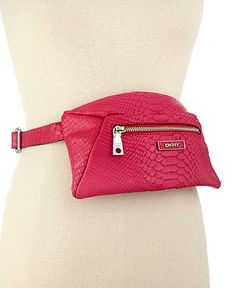 DKNY Belt, Fashion Python Belt Bag