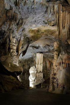 Postojna Cave, the largest underground karst cave in Slovenia and one of the most beautiful ones in the world.