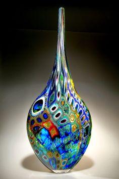 O designer e vidreiro da Califórnia, DAVID PATCHEN