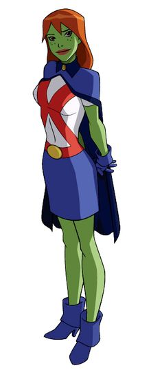 Miss Martian So excited to cosplay her! She's my super altar ego