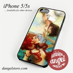 ariel and her prince Phone case for iPhone 4/4s/5/5c/5s/6/6 plus