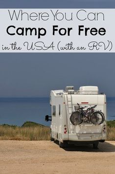 Where You Can Camp For Free in the USA (with an RV)
