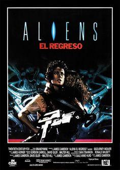 Aliens [Poster, 10 of 113 high-resolution movie posters in this group. Alien Film, Alien 2, Aliens 1986, Aliens Movie, David Fincher, Sci Fi Movies, Top Movies, Alien Sigourney Weaver, James Cameron Aliens