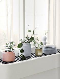 Via Ferm Living   Window Cill   Pastel White Green