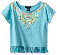 Baby Phat Girl's Fringe Top Aztec Print, Capri, « Clothing Impulse