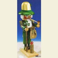 St. Patrick nutcracker