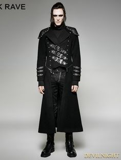 Pin by Untoter Tom on Gothic men's short coats and jackets | Pinterest